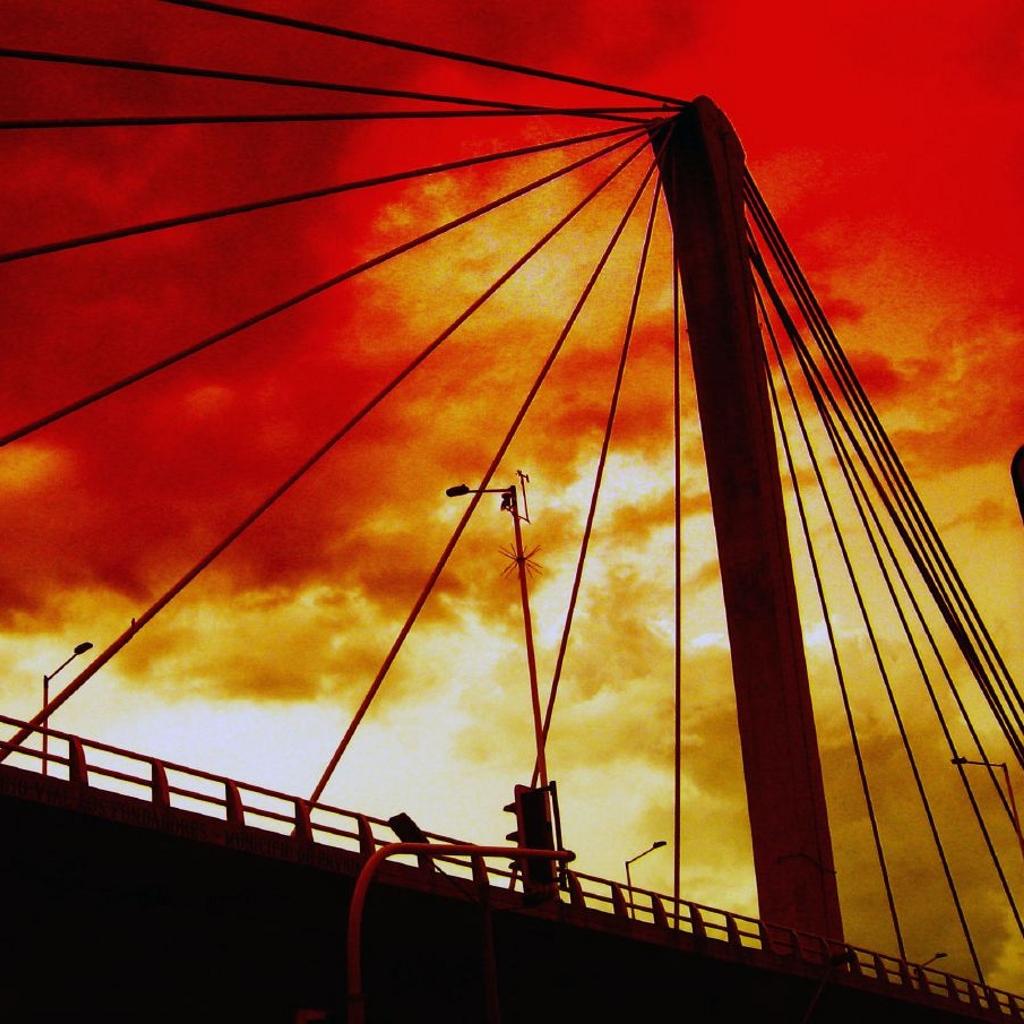 Fantasy Suspension Bridge